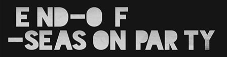 End-of-season party logo